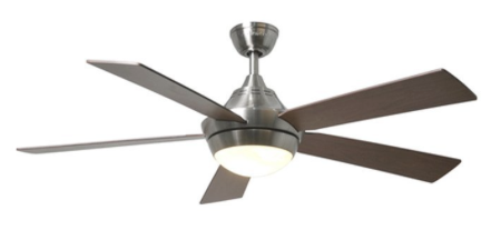 Harbor breeze ceiling fans best ceiling fans harbor breeze platinum portes 52 in brushed nickel downrod mount ceiling fan with light kit aloadofball Gallery
