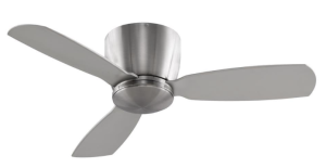 Fanimation FPS7967BN Embrace Ceiling Fan, 44-Inch:52-Inch, Brushed Nickel Finish