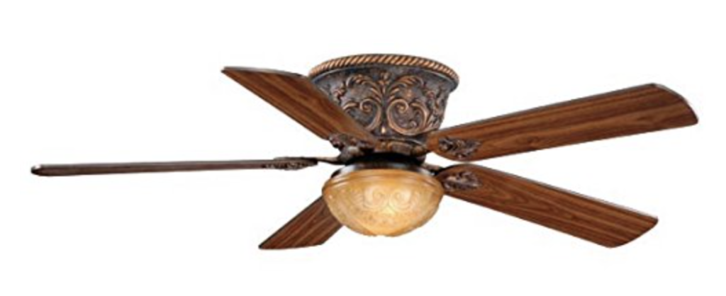 AireRyder FN52317AR Corazon 52-Inch Flushmount Ceiling Fan Aged Bronze