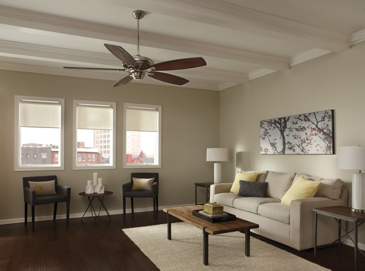Monte Carlo 5MXBP Maxima collection ceiling fan in living room